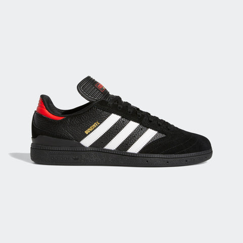 ADIDAS BUSENITZ CORE BLACK/FOOTWEAR WHITE/VIVID RED