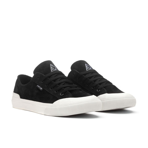 HUF CLASSIC LOW BLACK/BONE (SUEDE)
