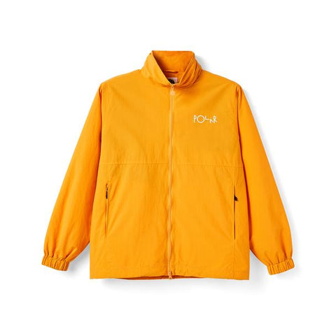 POLAR SKATE CO. COACHS JACKET YELLOW