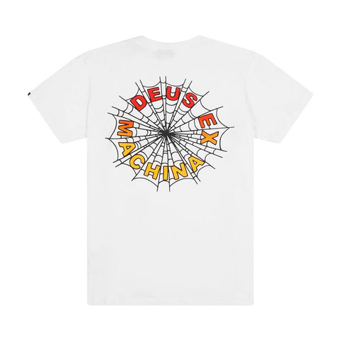 DEUS CHARLOTTE TEE WHITE (back print pictured)