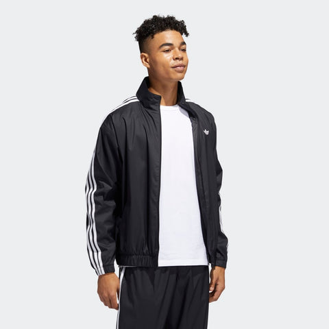 ADIDAS SKATEBOARDING FIREBIRD JACKET BLACK/WHITE