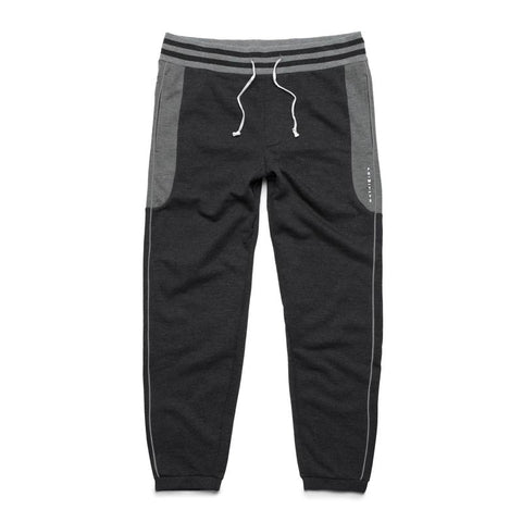 PRIMITIVE MOODS CONTOUR FLEECE PANT CHARCOAL HEATHER