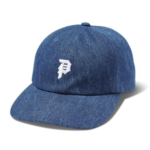 PRIMITIVE MINI DIRTY P DAD HAT NAVY DENIM