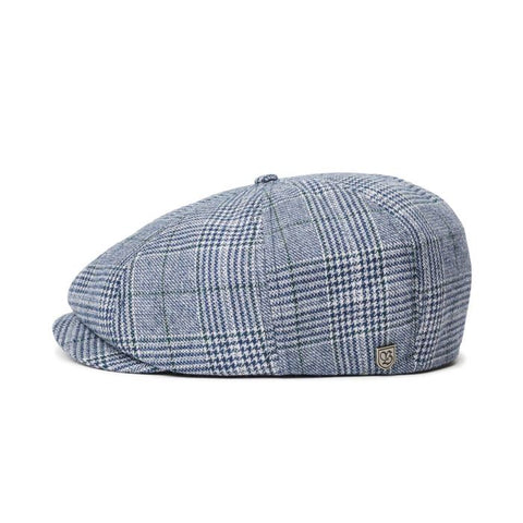 BRIXTON BROOD SNAP CAP WASHED NAVY/ALUMINUM