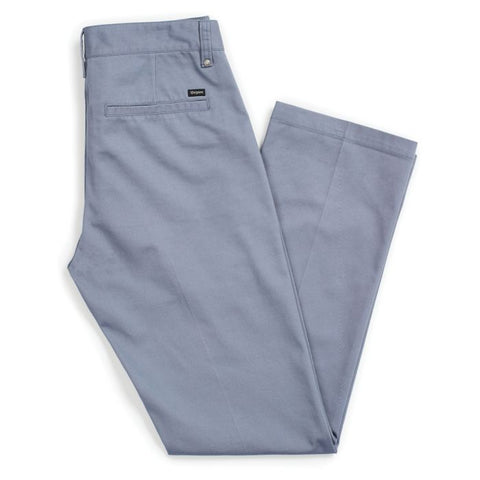 BRIXTON LABOR CHINO PANT GREY/BLUE