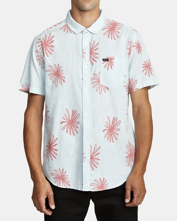 RVCA WHIRLS SS TEE CORAL PINK