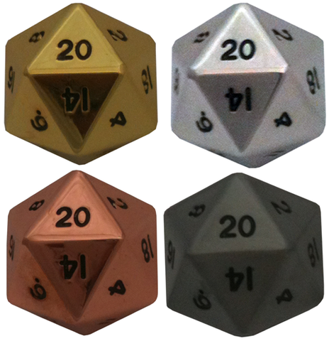 35mm Mega Metal d20