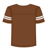 Football Jersey Brown