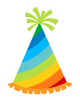 Party Hat Rainbow