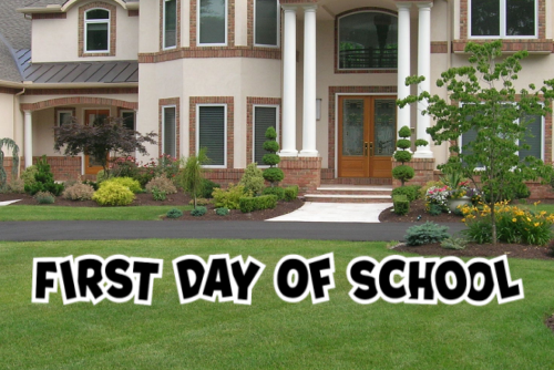 First Day of School - FDOS001BK