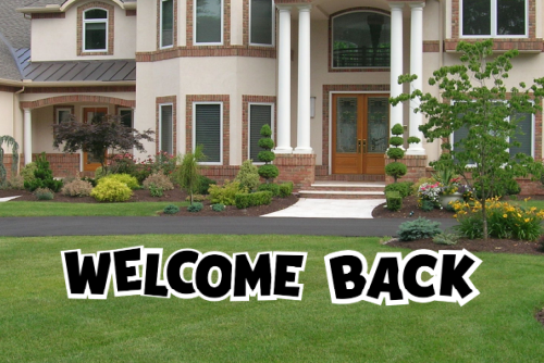 Welcome Back - WBK001BK