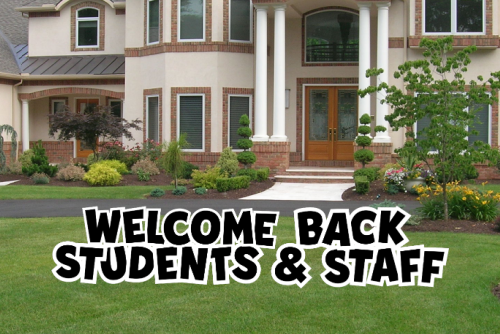 Welcome Back Students & Staff - WBSS001BK