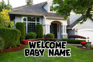 Welcome Baby - WB001BK