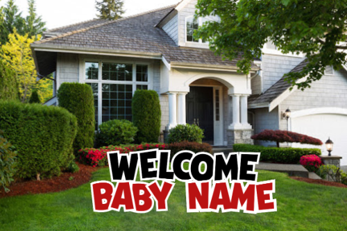 Welcome Baby - WB001RD