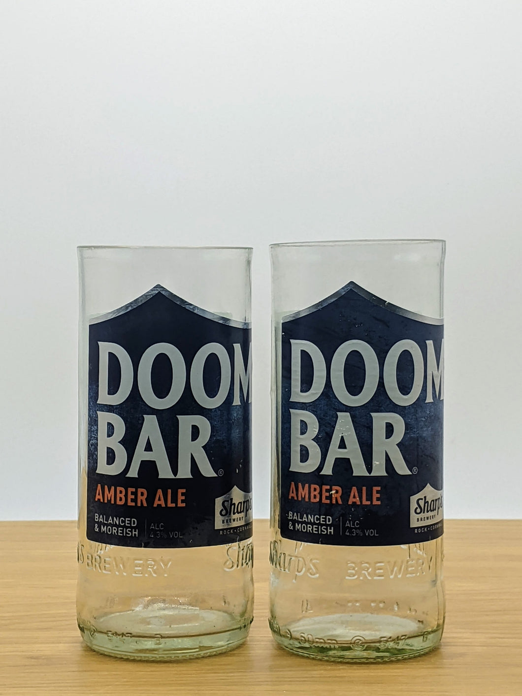 Doombar beer bottle tumblers