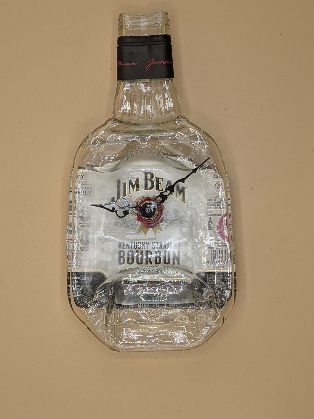Jim Beam bottle clock