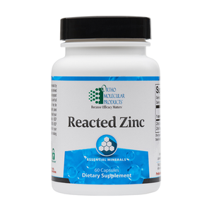 Reacted Zinc (60 capsules) - New Metabolism Store