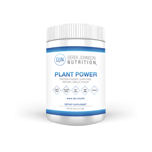 Plant Power: DF Vanilla Protein Powder (540 g)