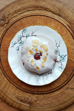 Load image into Gallery viewer, Cherry Bakewell Doughnut