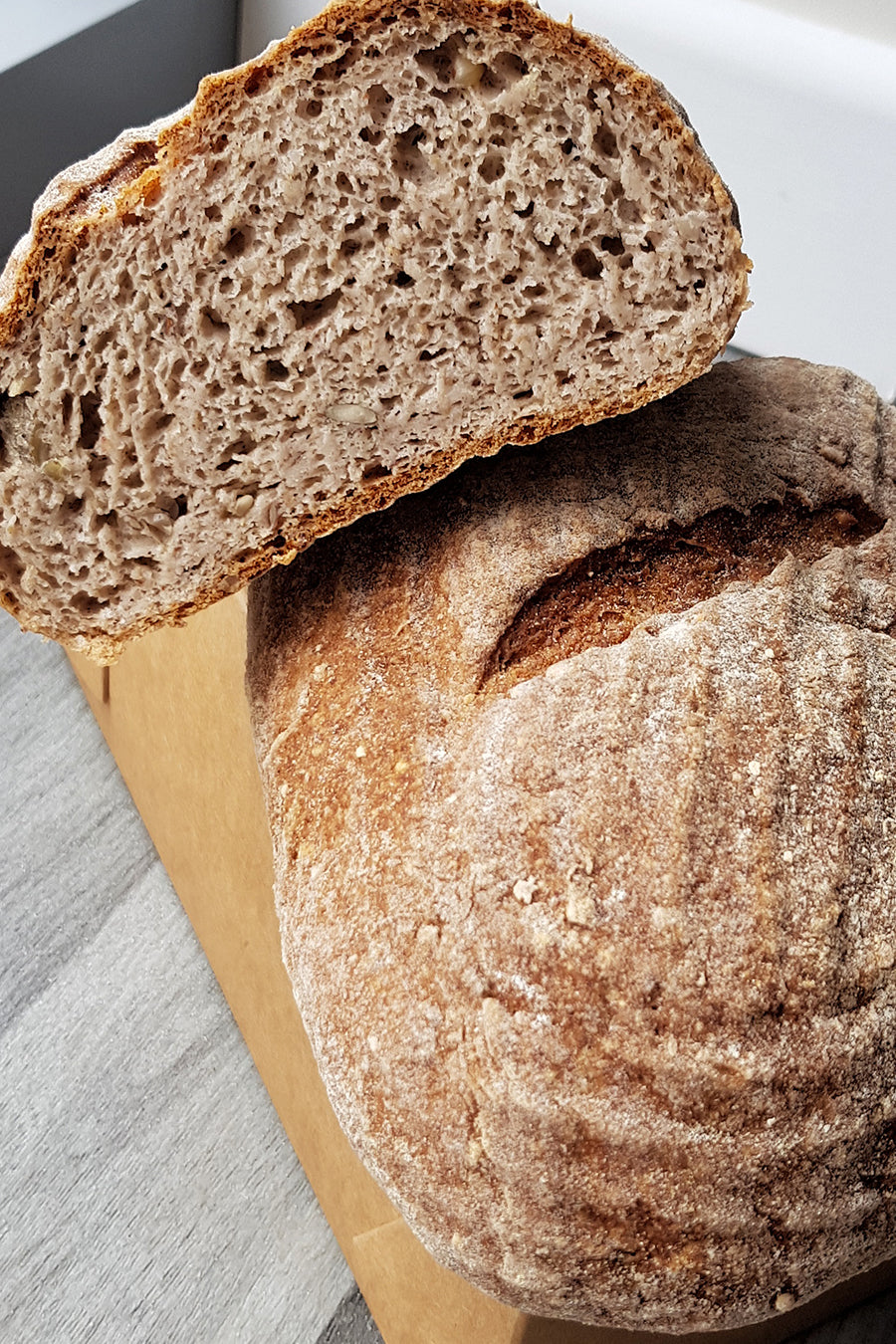 Teff Wholemeal Bread
