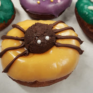 Chocolate Orange Spider Doughnut