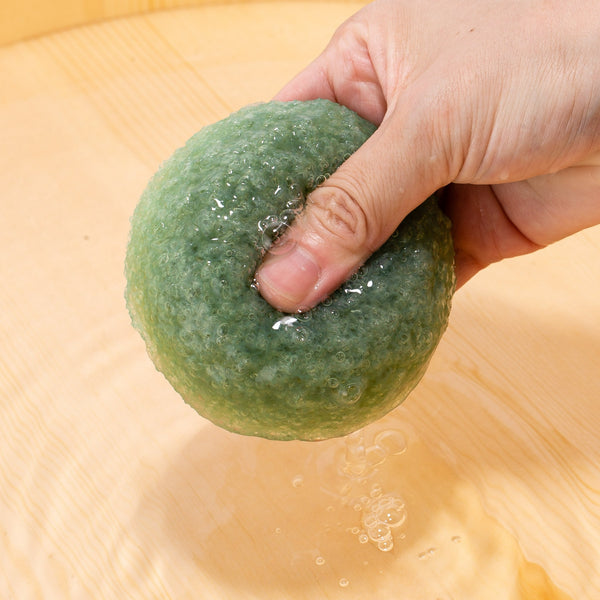 Konjac Sponge KOMACHI Green Tea 6 pieces