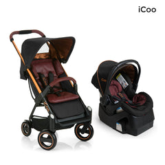 I'coo Acrobat and IGuard35 Travel System - Copper Black
