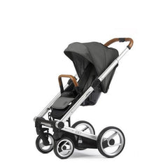 Mutsy Igo Urban Nomad Stroller - Dark Grey with Silver Frame
