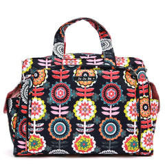 Jujube  Be Prepared Diaper Bag - Dancing Dahlias