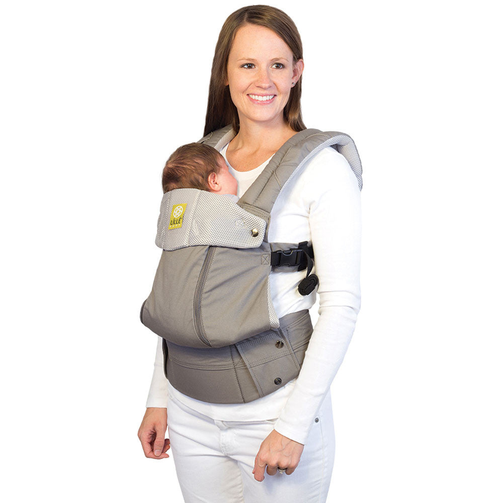 Líllébaby COMPLETE All Seasons Baby Carrier Stone (NEW with Pockets)