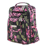 JuJuBe Be Right Back Backpack Diaper Bag - Blooming Romance