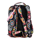 JuJuBe Be Right Back Backpack Diaper Bag - Dancing Dahlias