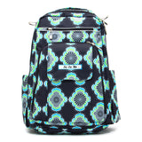 JuJuBe Be Right Back Backpack Diaper Bag - Moon Beam
