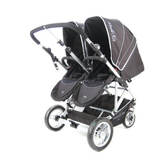 StrollAir My Duo Double Stroller - Black