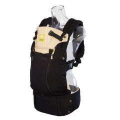 Líllébaby COMPLETE All Seasons Baby Carrier - Black/Camel (NEW with Pockets)