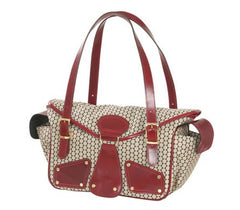 Mia Bossi Maria Red Pepper Diaper Bag