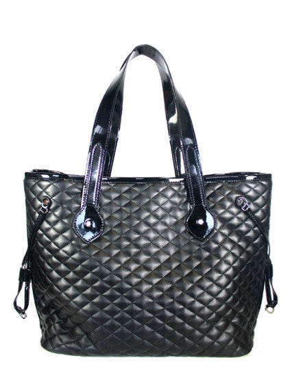 Mia Bossi Emma Quilted Diaper Bag