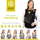 Líllébaby COMPLETE All Seasons Baby Carrier - Black (NEW with Pockets)