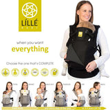 Lillebaby COMPLETE All Seasons Baby Carrier - Black