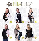 Lillebaby Complete Airflow Baby Carrier 6 Points Carrying Position