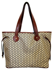 Mia Bossi Emma Toffee Diaper Bag