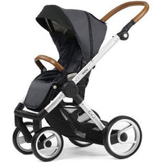 Mutsy Evo Urban Nomad Stroller - Dark Grey with Silver Frame
