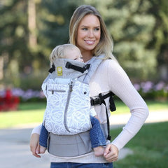 Líllébaby COMPLETE All Seasons Baby Carrier - Frosted Rose (NEW with Pockets)
