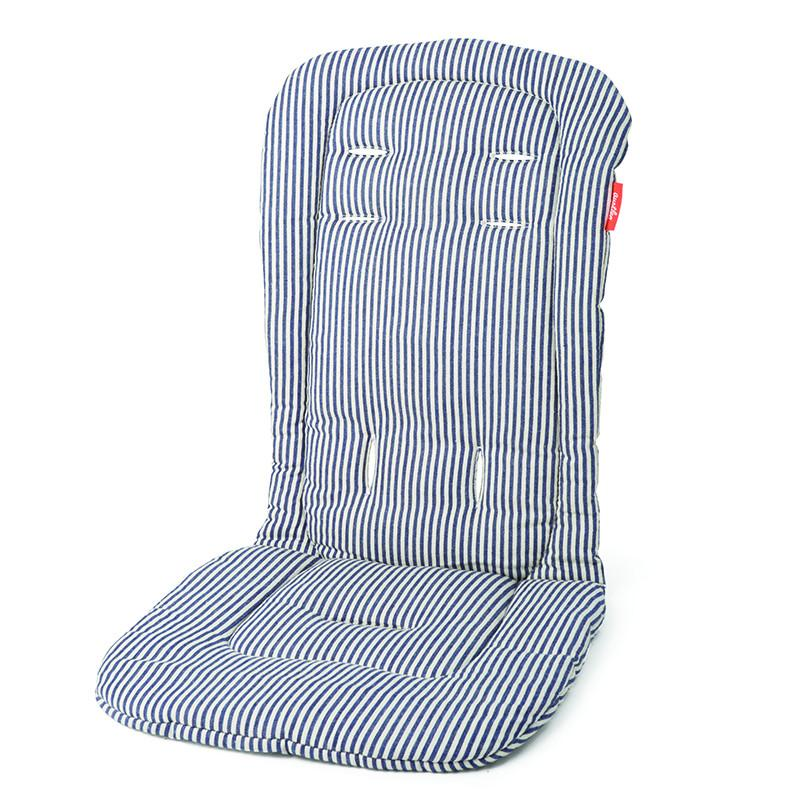 Austlen Entourage Seat Liner - Second Seat in Navy Stripe