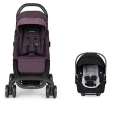 Nuna Pepp and Pipa Travel System - Blackberry