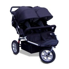 Tike Tech City X3 Double Swivel Stroller - Classic Black