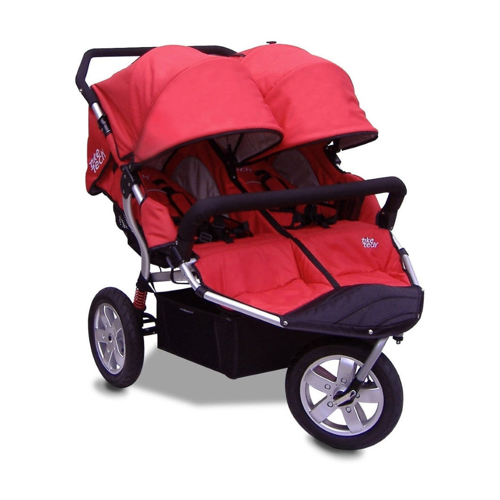 Tike Tech City X3 Double Swivel Stroller - Alpine Red