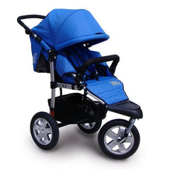 Tike Tech City X3 Swivel Stroller - Pacific Blue