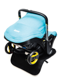 Doona Infant Car Seat Travel System with Base - Turquoise/Sky