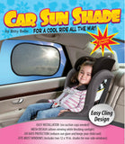 Car Sunshade with UPF 30+ Sun Protection (2 count)